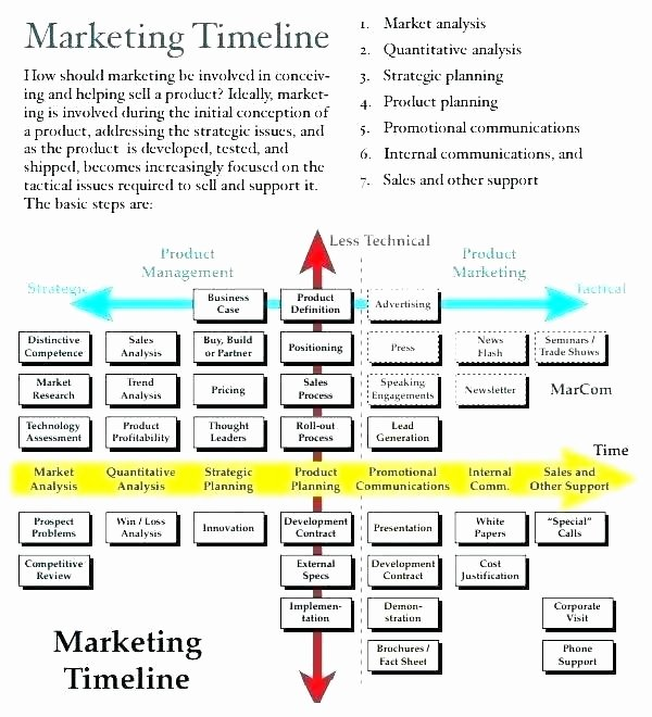 Real Estate Timeline Template Unique Sales Campaign Plan Template Elements An Integrated