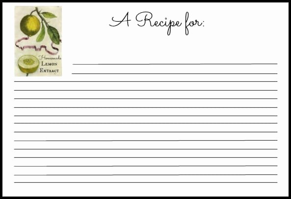Recipe Template Excel Elegant 6 Recipe Card Templates Word Excel Templates