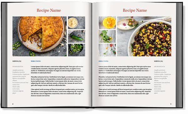 Recipe Template Excel Lovely Cookbook Templates Word Excel Samples