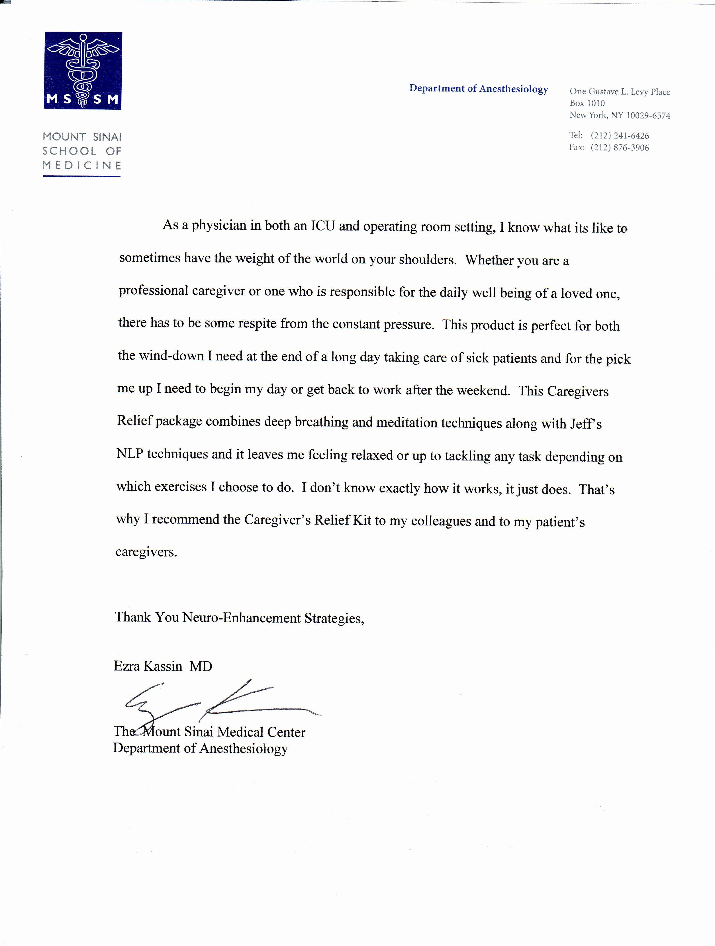 Recommendation Letter for Medical assistant Luxury Resume Cover Letter Medical assistant New Cover Letter