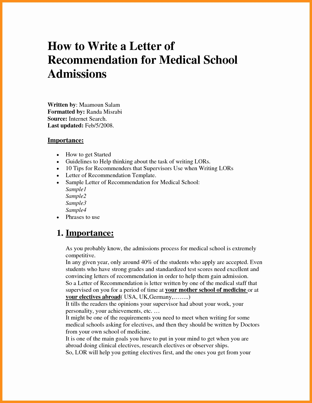 Recommendation Letter for Medical assistant New Template for Letter Re Mendation for Medical School