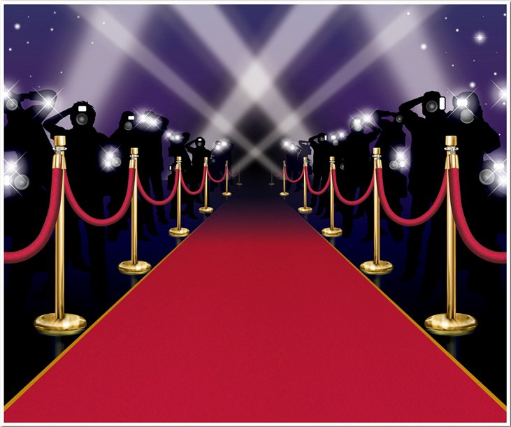 Red Carpet Invitation Template Free Fresh Decoration Murale Entree Des Artistes soirée à Deux Ou