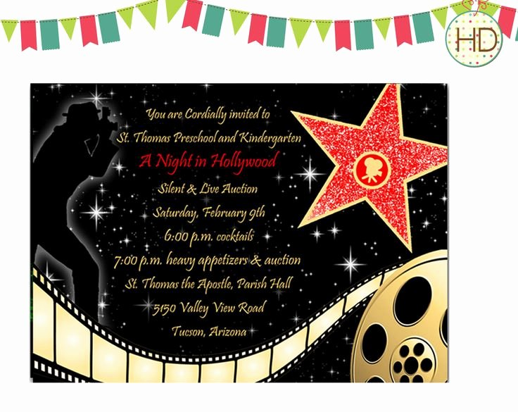Red Carpet Invitation Template Free New Best 25 Hollywood Invitations Ideas On Pinterest