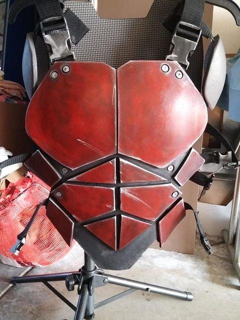 Red Hood Helmet Foam Template Lovely 53 Best Jason todd Red Hood Cosplay Images On Pinterest
