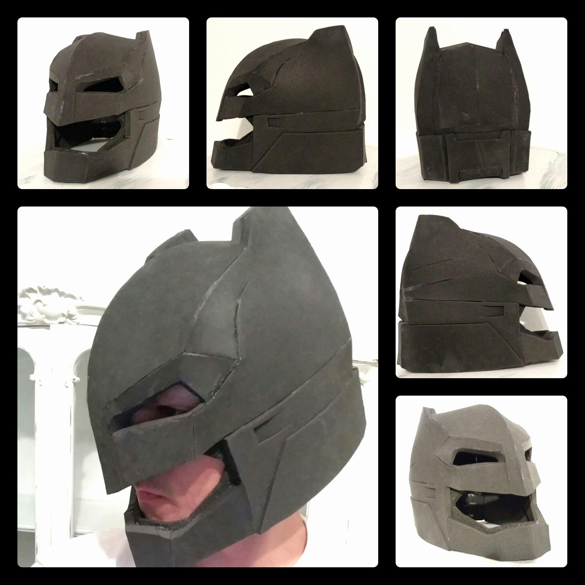 Red Hood Helmet Foam Template Luxury Batman Helmet Out Of Eva Foam Batman Doj Evafoam