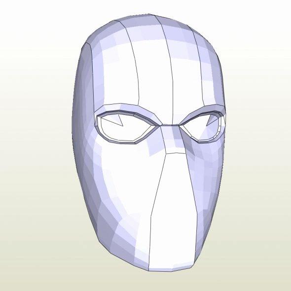 Red Hood Helmet Foam Template Unique Papercraft Pdo File Template for Zelda Fierce Deity Mask Foam