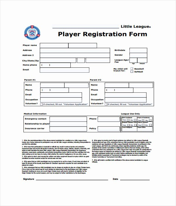 Registration form Template Word Free Elegant 11 Registration form Templates Free Word Pdf Documents