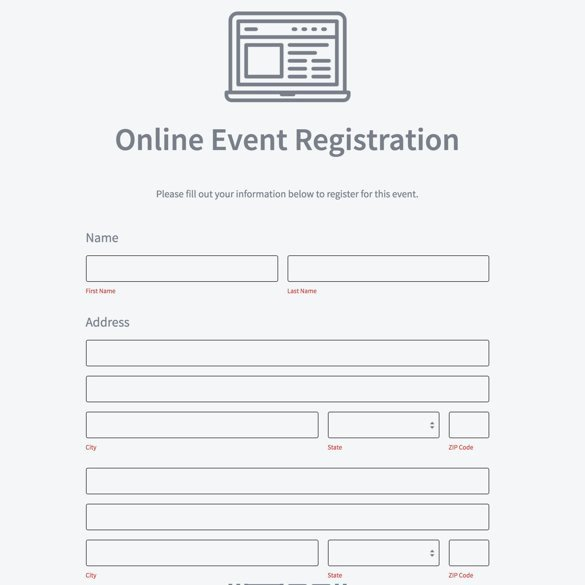 Registration form Template Word Free Inspirational event Registration form Builder