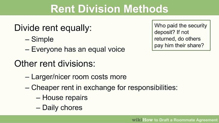 Rent House Rules Elegant How to Draft A Roommate Agreement 13 Steps with