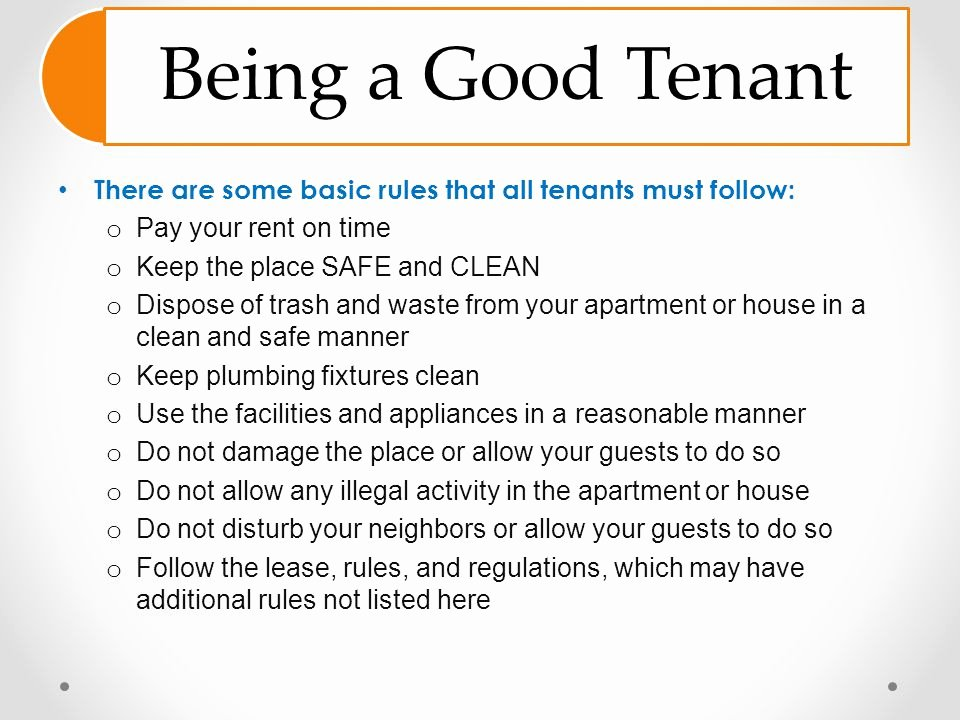 Rent House Rules Inspirational House Rules for Tenants Architectural Designs