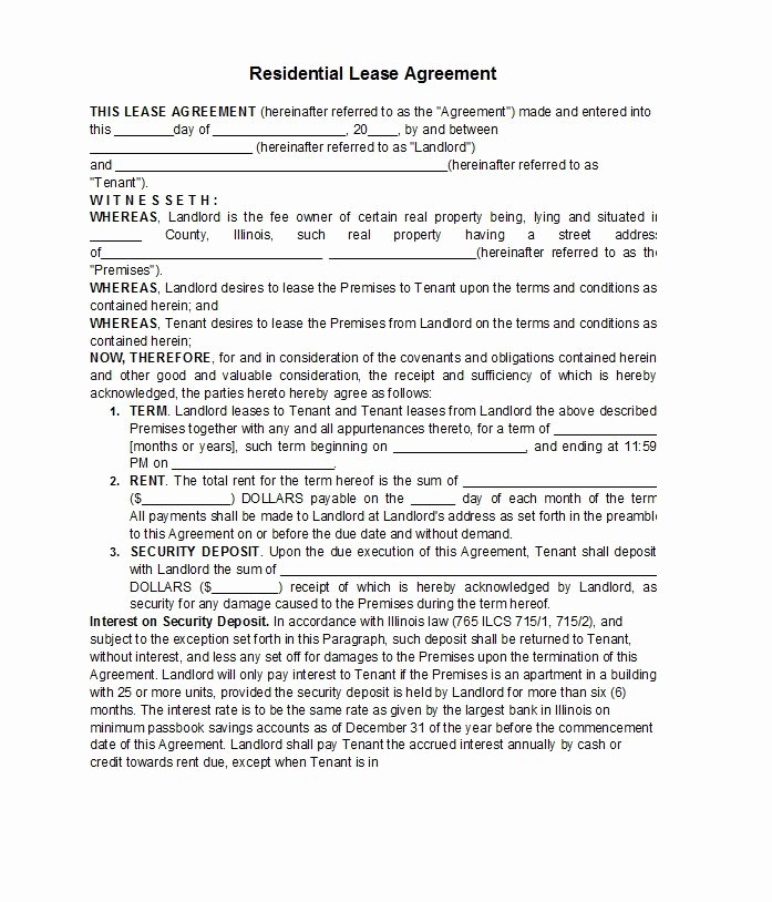 Rent Lease Template Best Of 42 Free Rental Application forms & Lease Agreement