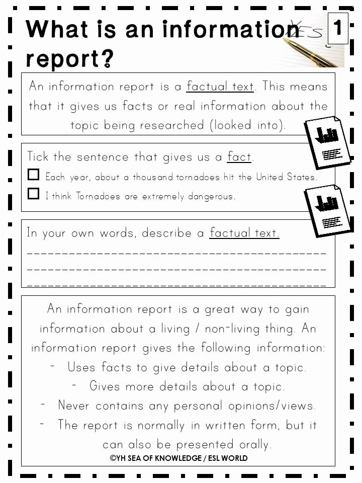 Report Writing Template Lovely Writing Information Reports Writing Reports Guide