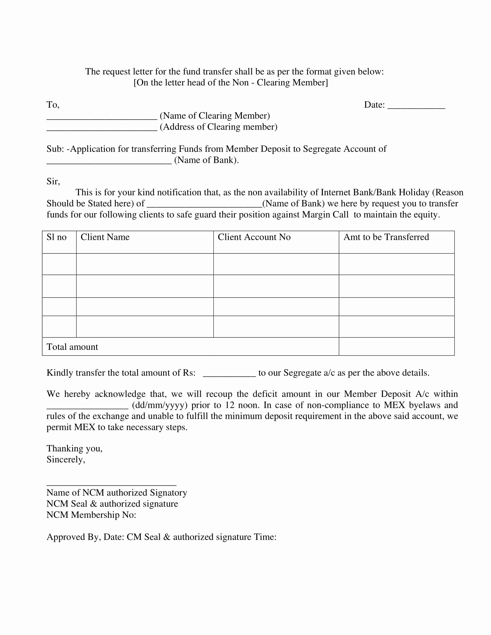 Request for Funds form Template Best Of 9 Transfer Request Letter Examples Pdf Doc