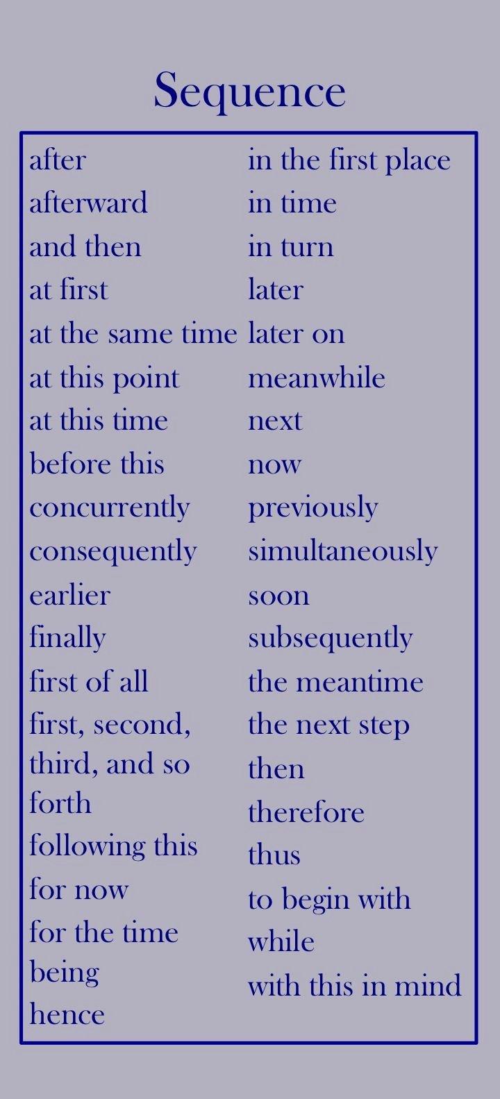 Research Paper Transition Words Elegant 84 Best Images About Esl Grammar Connectors and