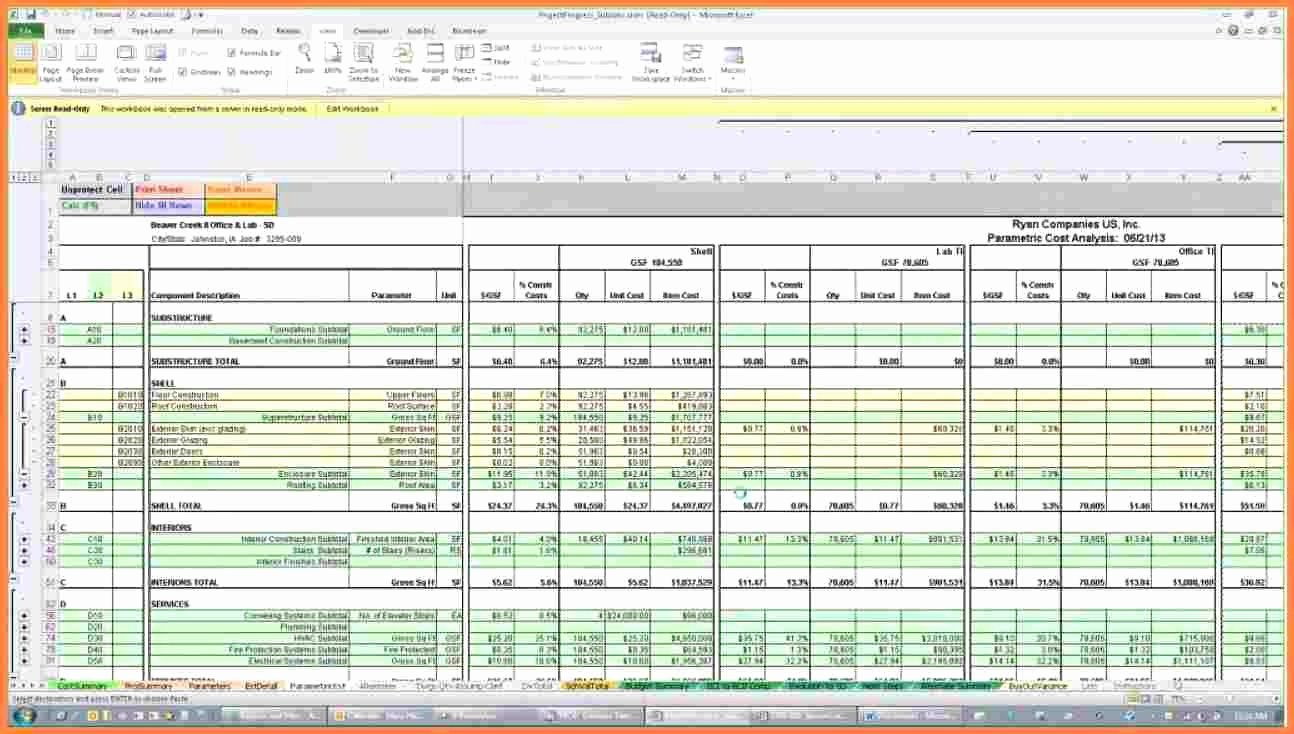 Residential Construction Budget Template Excel Luxury Excel Spreadsheet for Construction Estimating