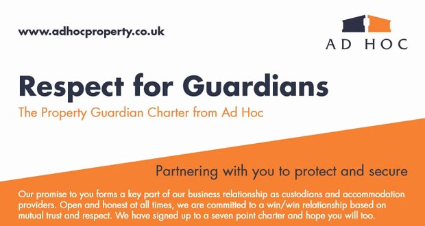 Respecting Others Property Essay Awesome Ad Hoc Launches Property Guardian Charter to Raise