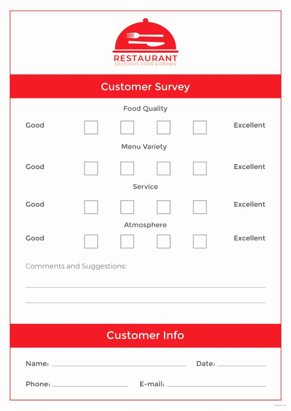 Restaurant Comment Cards Template Luxury How to Make A Restaurant Ment Card 5 Templates