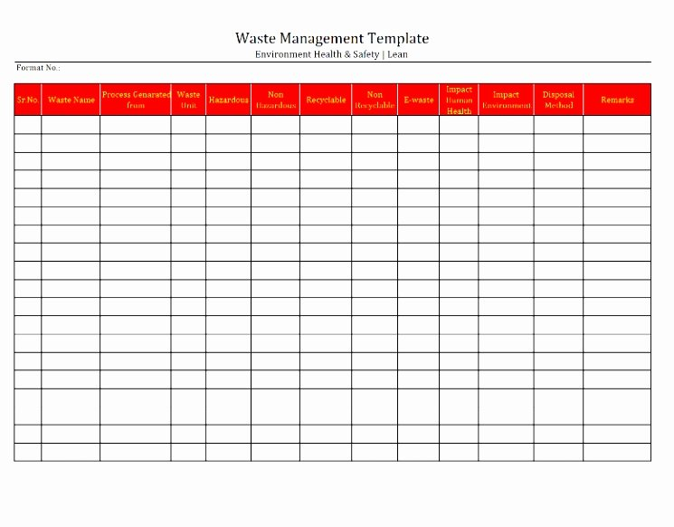 Restaurant Manager Log Book Template Inspirational 10 Food Waste Log Template Uuiri