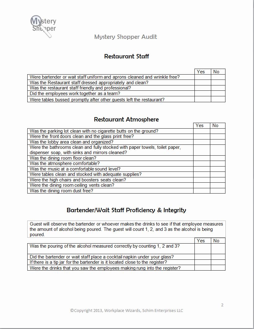 Restaurant Observation Report Sample Luxury New Cumberland Pennsylvania Restaurant Consultants
