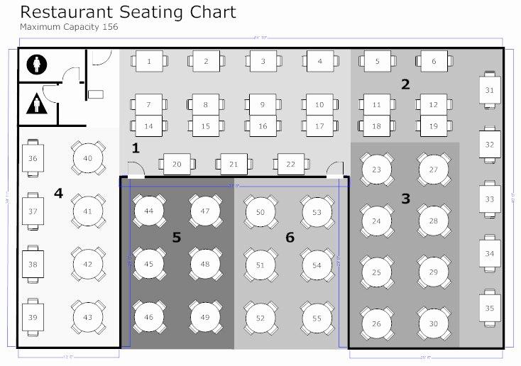 Restaurant Waiting List Template Fresh Restaurant Floor Plan How to Create A Restaurant Floor Plan