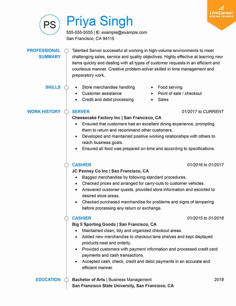 Resume In Paragraph form Best Of 9 Best Resume formats Of 2019
