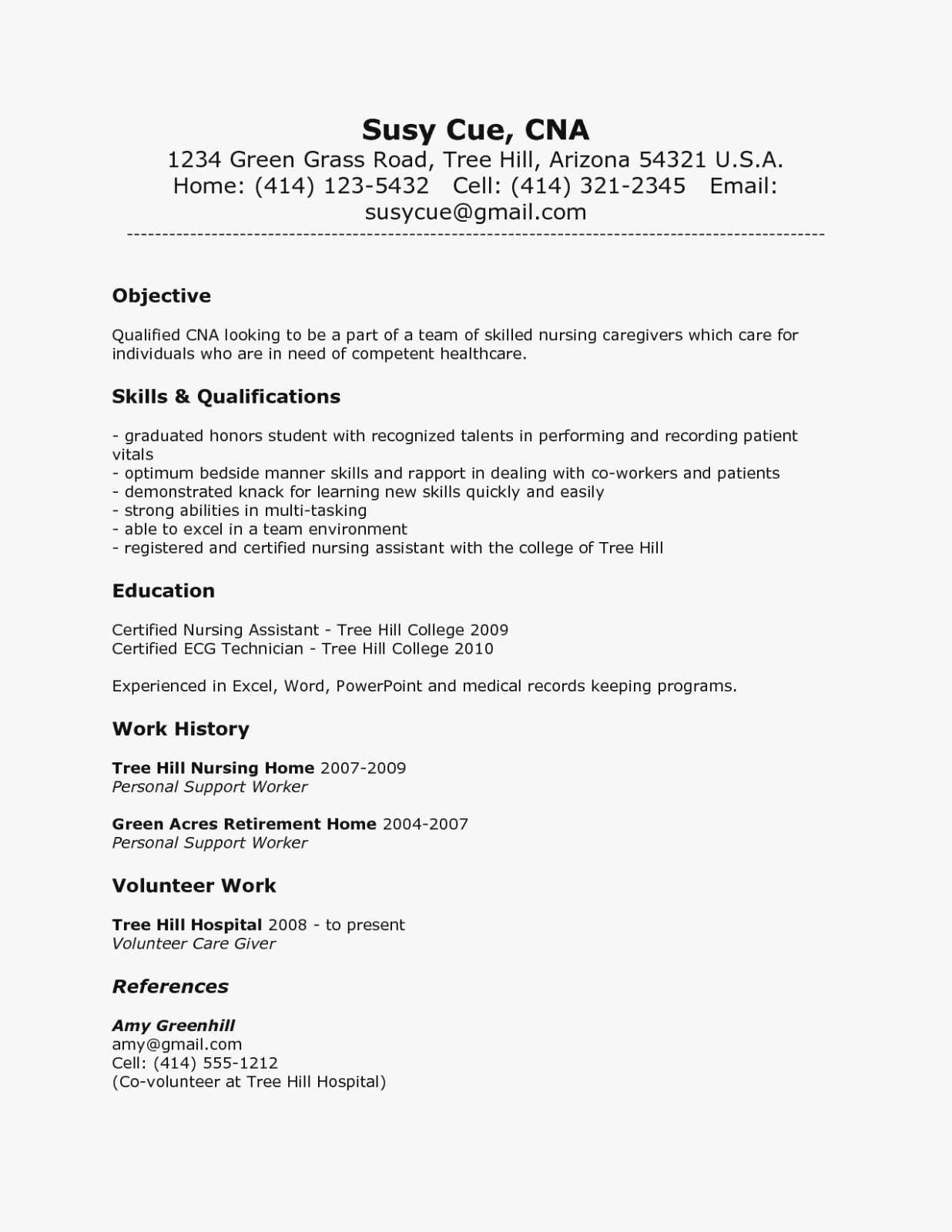 Resumes for Cna Position Lovely the Modern Rules Cna Qualifications