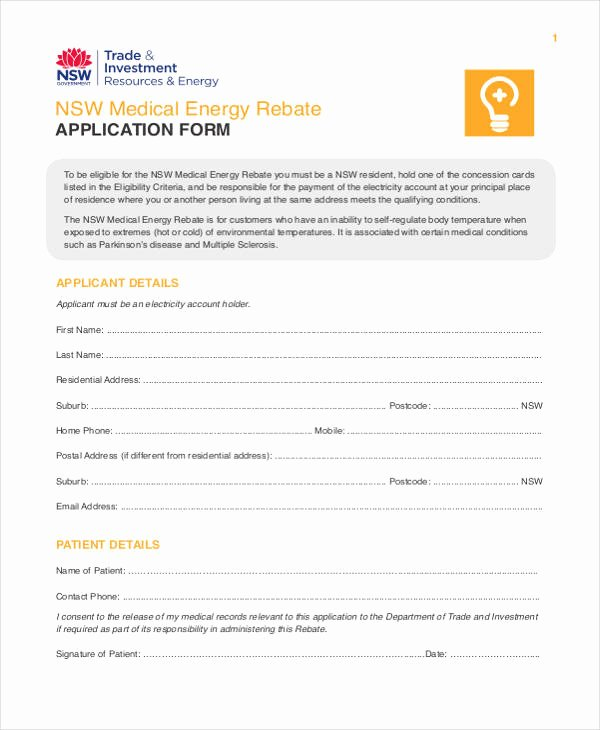 Retail Application form Awesome 33 Medical Application forms In Pdf