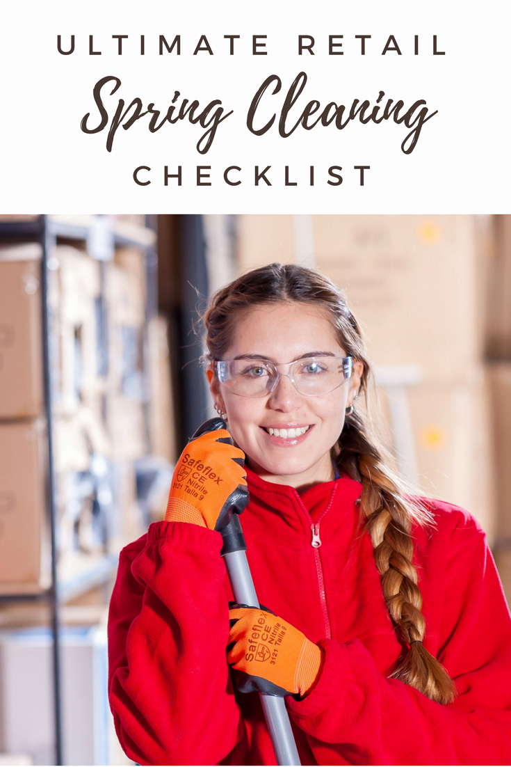 Retail Store Cleaning Checklist Fresh Ultimate Retail Spring Cleaning Checklist – Omega Products