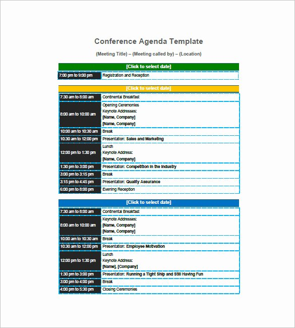 Retreat Itinerary Template Beautiful Agenda Planner Template – 8 Free Word Excel Pdf format