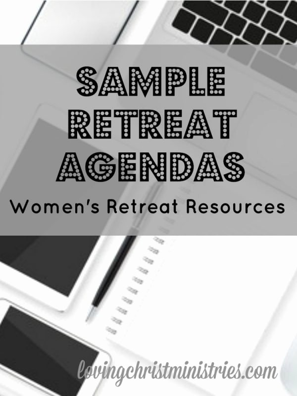Retreat Schedule Template Best Of Sample Retreat Agendas