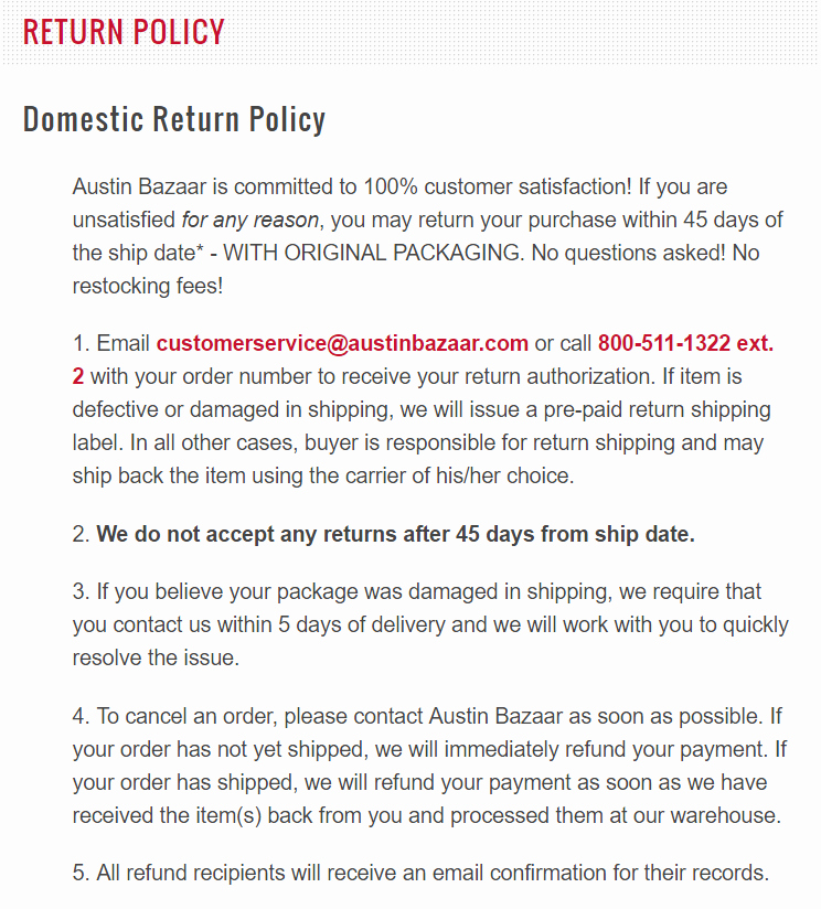 Return Policy Template Word Beautiful How to Write An E Merce Return Policy [template and