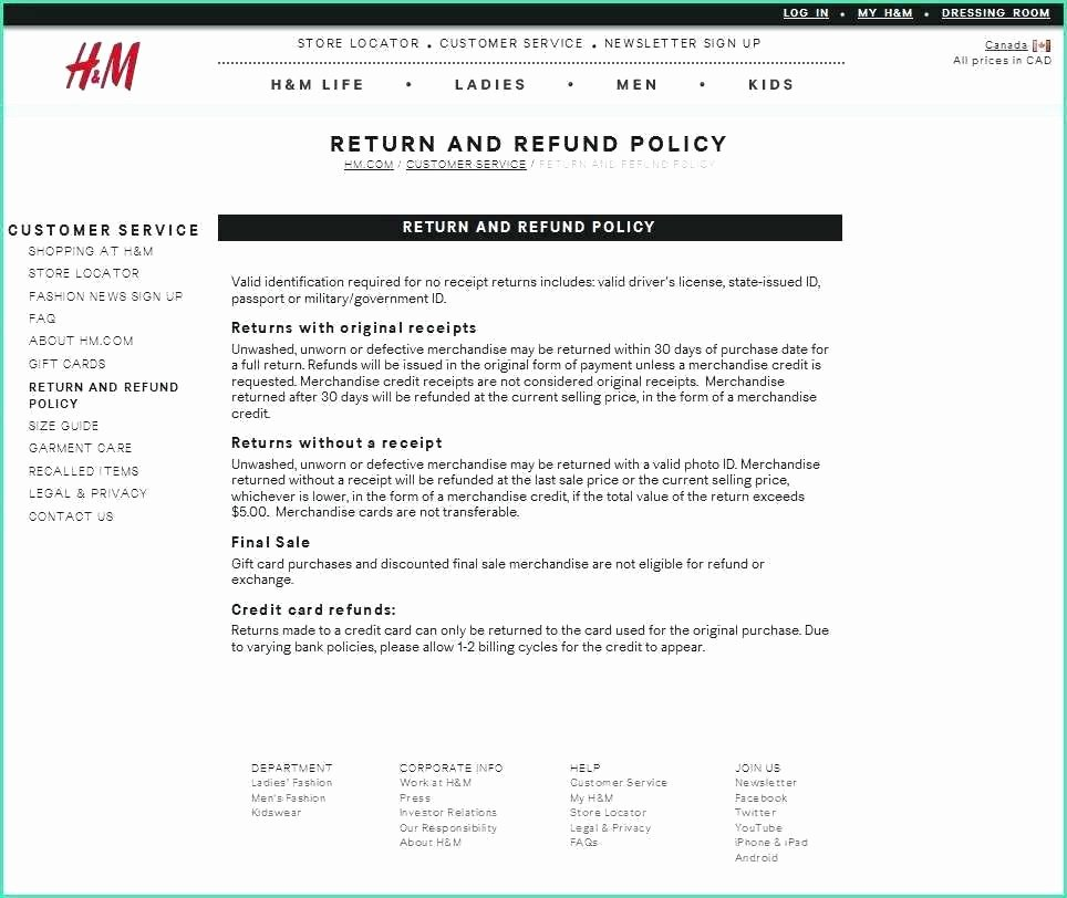 Return Policy Template Word Inspirational Insurance Policy Template Word