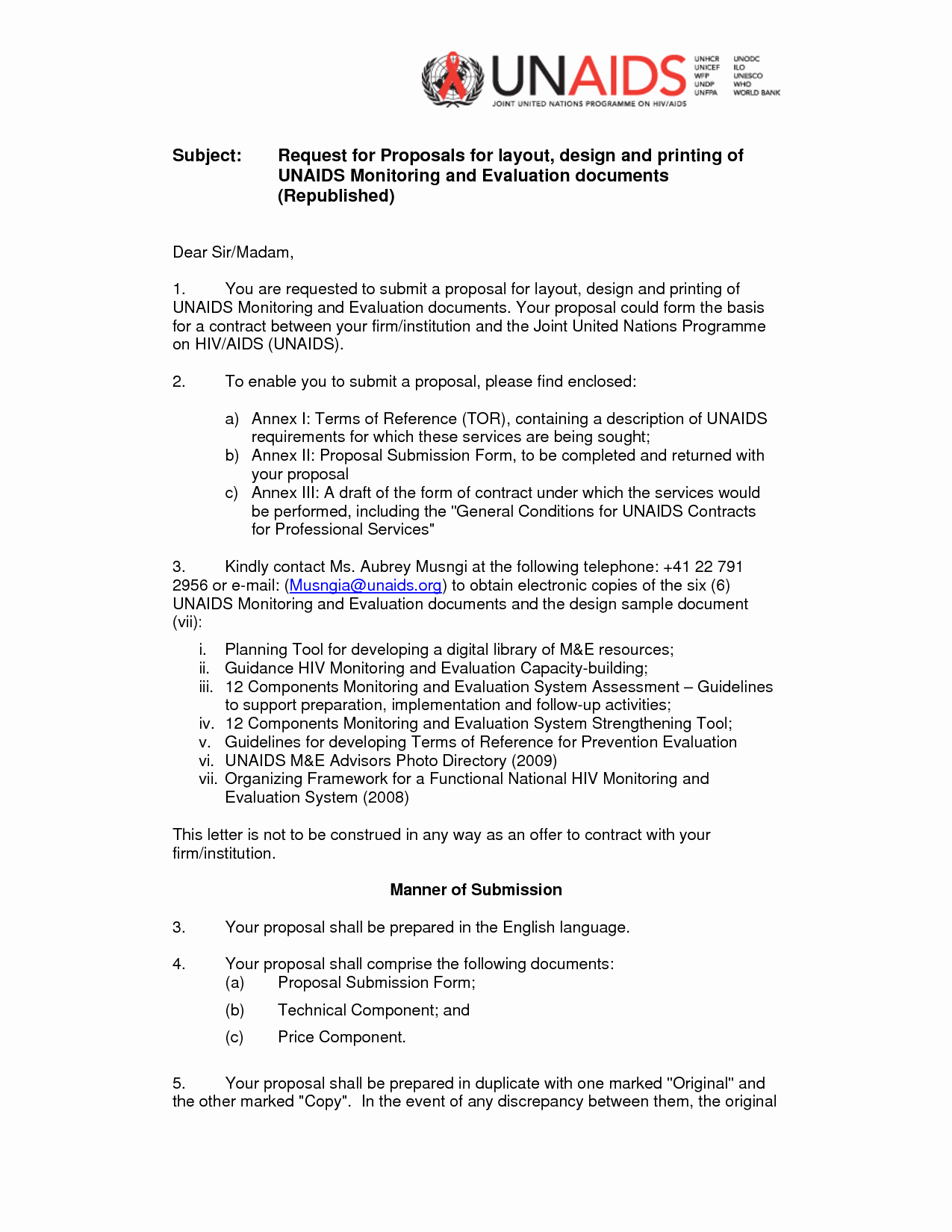 Rfp Proposal Example Best Of Rfp Cover Letter
