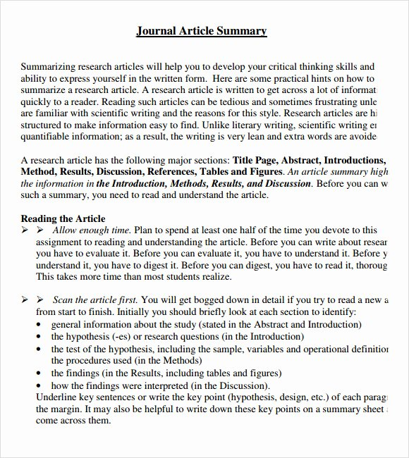 Rhetorical Precis Template Avid Awesome Article Summary Sample 6 Documents In Pdf