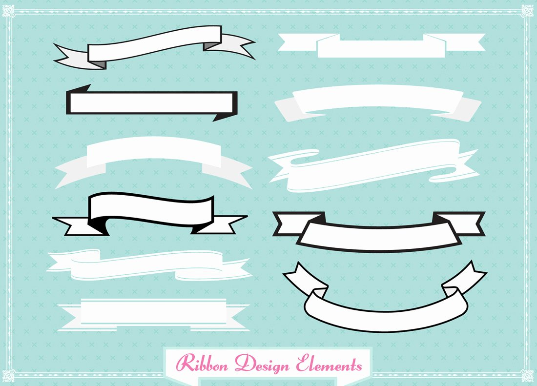 Ribbon Banner Template Best Of Ribbon Banner Template Clipart Best