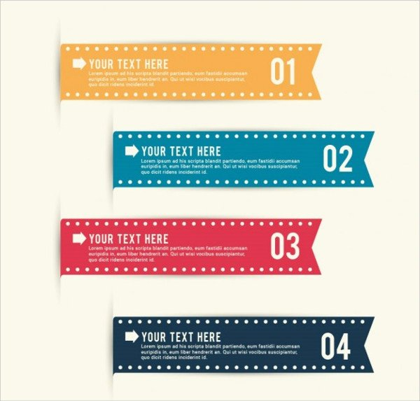 Ribbon Banner Template Luxury 9 Ribbon Banners Jpg Psd Ai Illustrator Download