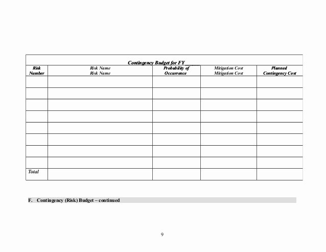 Risk Management Plan Template Doc Unique Risk Management Plan Template 1 2