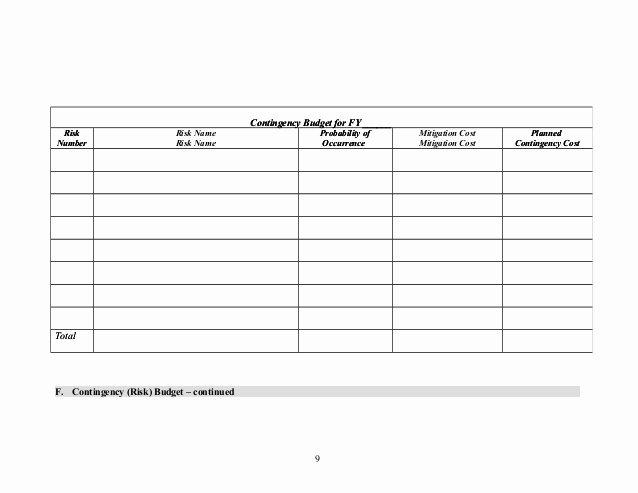 Risk Management Plan Template Doc Unique Risk Management Plan Template 1 2