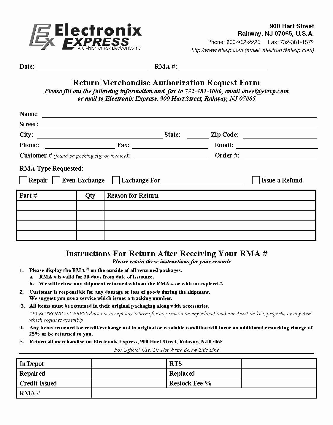 Rma form Template Awesome Rma form Template Hashtag Bg