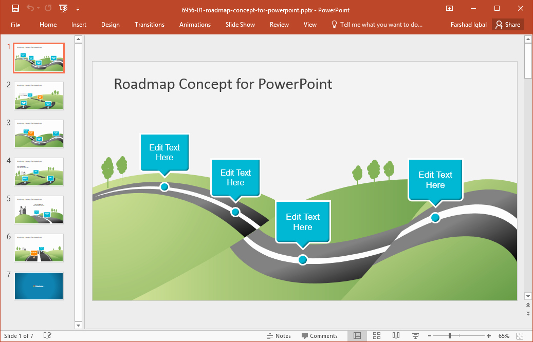 Roadmap Template Excel Free Download Awesome Best Roadmap Templates for Powerpoint