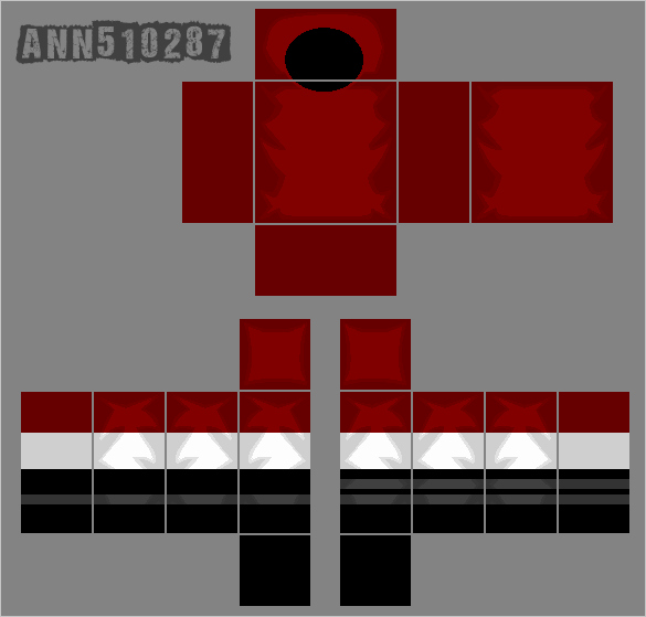 Roblox Hoodie Template 2017 Best Of Roblox Red Shirt Template by Ann On Deviantart