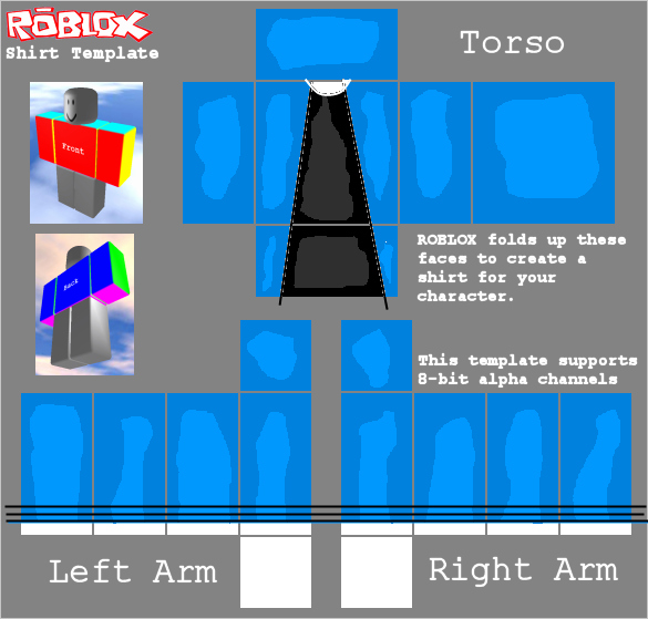 Roblox Hoodie Template 2017 Inspirational Blue Trenchcoat [roblox] by Mainr On Deviantart