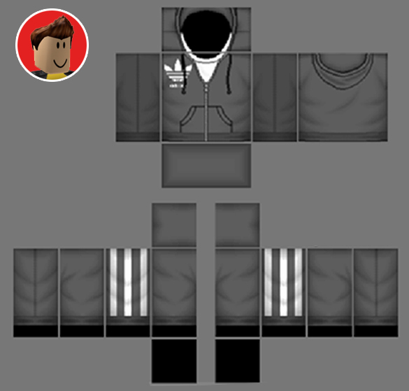 Roblox Hoodie Template Best Of Roblox Hoo Templates Coolest Roblox Skins Templates