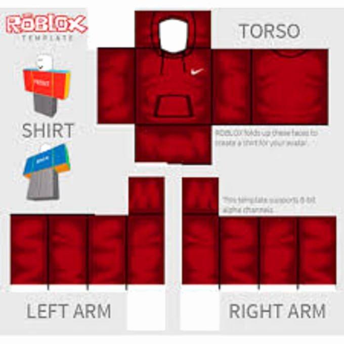 Roblox Hoodie Template Elegant Make A Roblox Shirt for You by Razetheking123