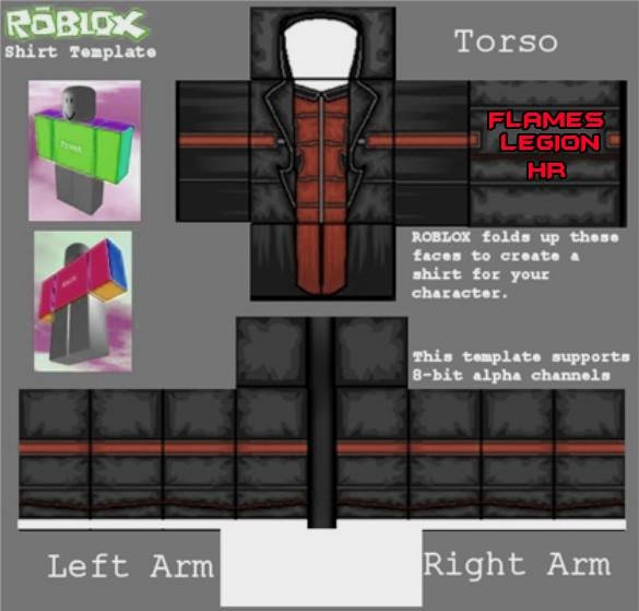 Roblox Hoodie Template Elegant Roblox Shirt Template Psd Pdf 2019 Free Download