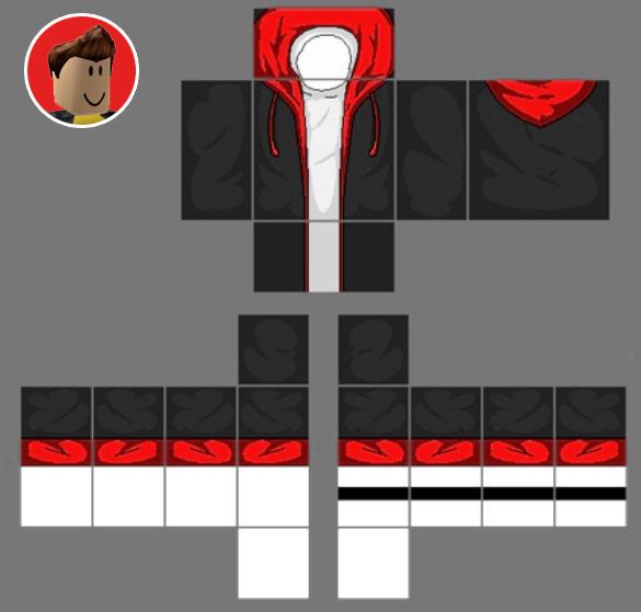 Roblox Hoodie Template Inspirational Roblox Hoo Templates Coolest Roblox Skins Templates
