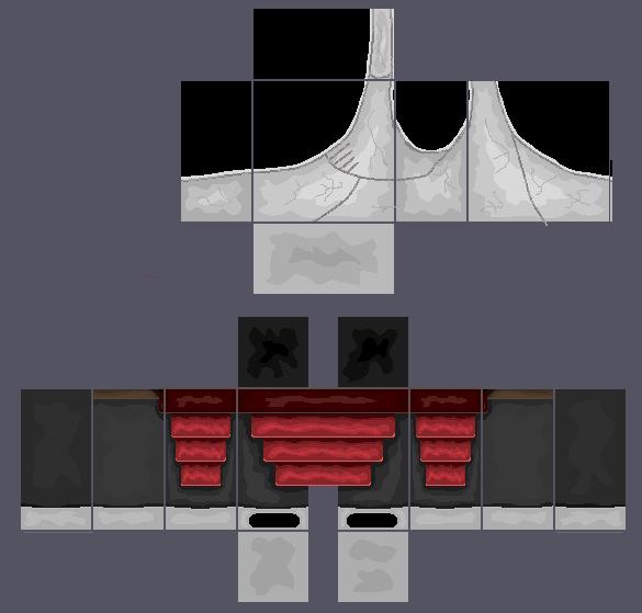 Roblox Jacket Template Luxury Diagonal Flak Jacket White Red Pants by Iimadrbx On