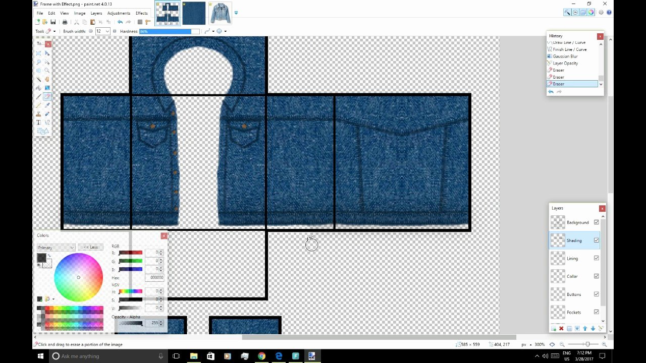 Roblox Jacket Template Luxury How to Create A Detailed Denim Jacket