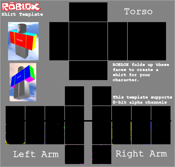 Roblox Shirt Template Size Unique Roblox Tshirt Template by Averageleaf On Deviantart