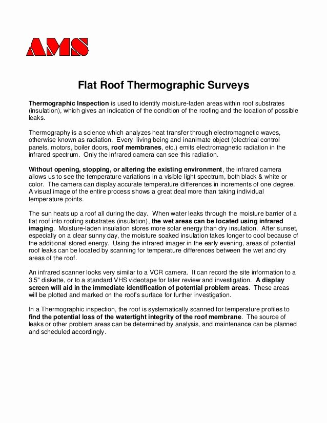Roof Inspection Report Sample Inspirational I R Sample Report